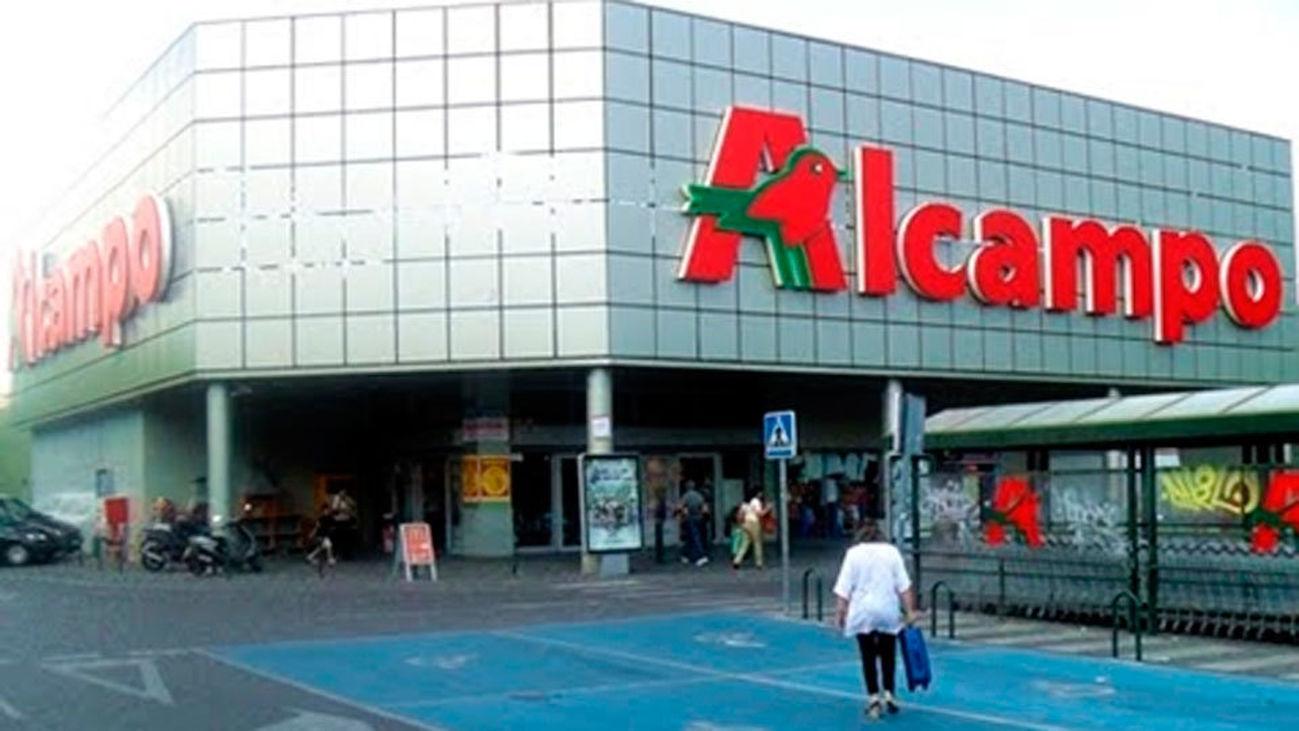 Supermercado Alcampo en Madrid