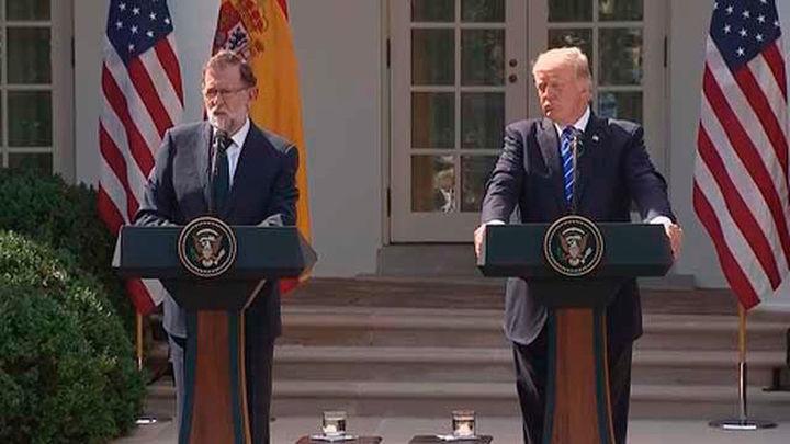 """Trump dice que España es """"un gran país y debería permanecer unido"""""""