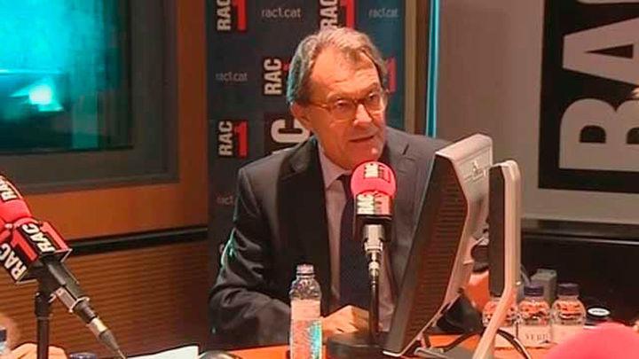 Artur Mas pide aportaciones  para pagar los 5,25 millones de fianza por el 9N