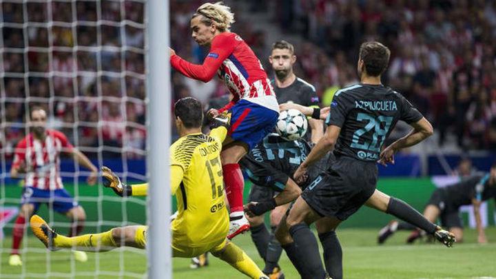 1-2. Doloroso final del Atlético ante el Chelsea