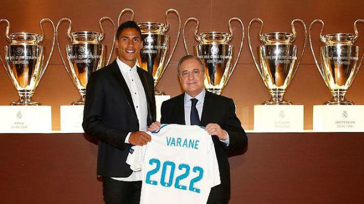 """Varane: """"Cristiano marca la historia del fútbol y es difícil criticarle"""""""