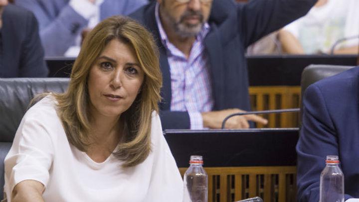 El Parlamento andaluz aprueba la iniciativa de Cs sobre Cataluña con apoyo del PSOE