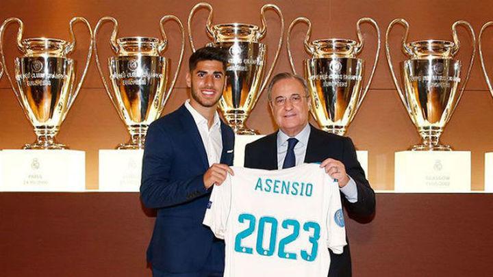 """Asensio tras su renovación: """"Ahora no pienso en ganar el Balón de Oro"""""""