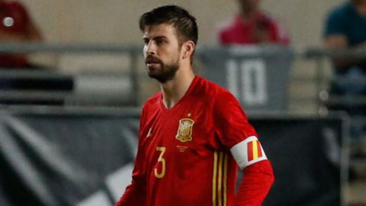"""Piqué: """"Es un orgullo y una motivación enorme jugar con la Selección"""""""