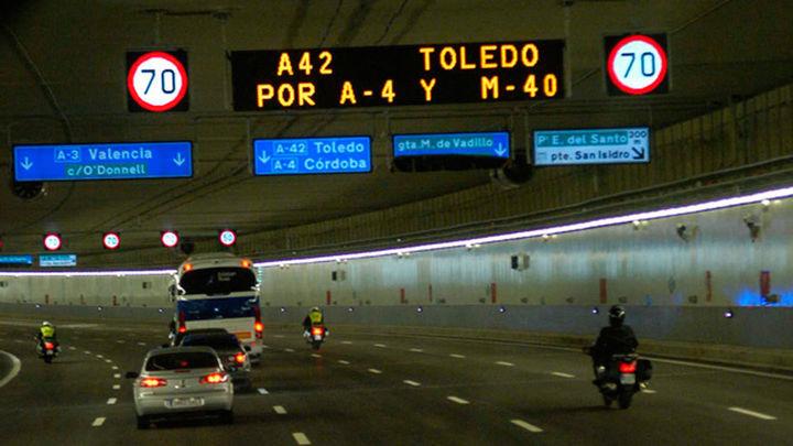 Los túneles de la M-30 refuerzan su seguridad con 17 millones de euros