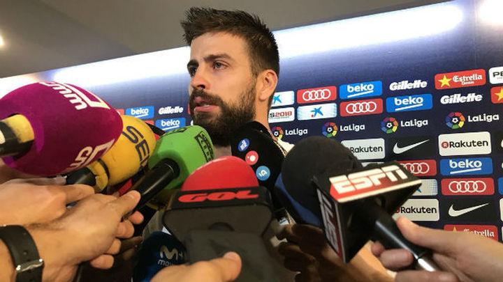 """Piqué: """"Si molesto en la Selección puedo dar un paso al lado"""""""