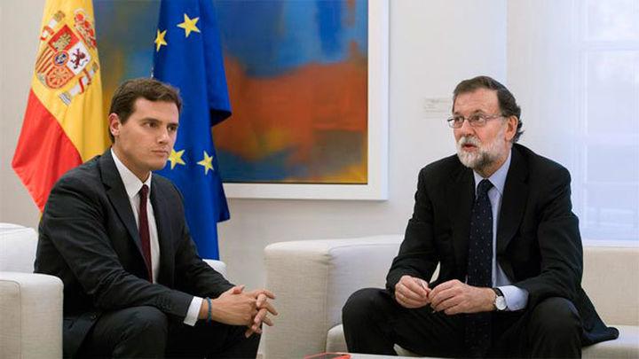 Rivera se reúne con Rajoy y le vuelve a pedir que aplique el artículo 155