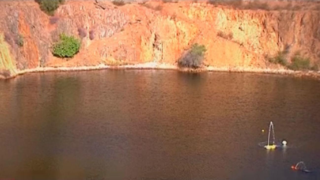 """El gas del """"lago asesino"""" de Huelva podría evacuarse en los próximos meses"""