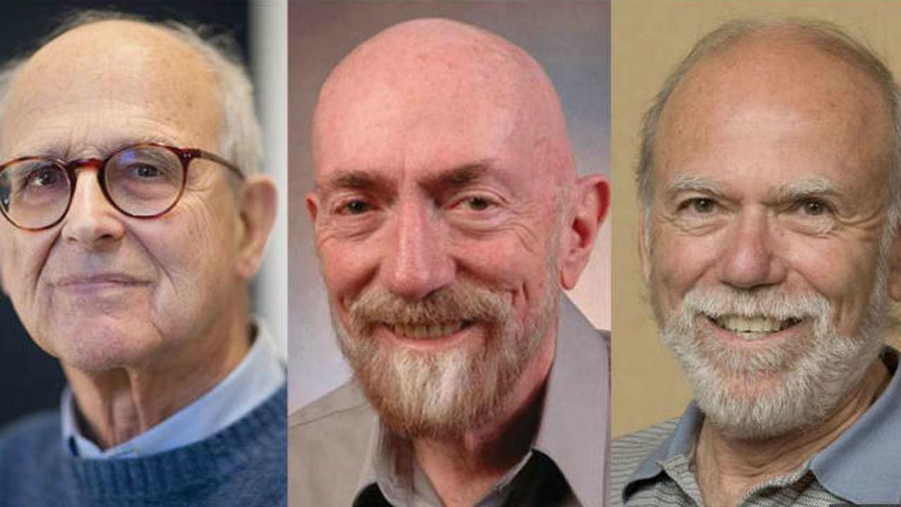 Rainer Weiss, Barry C. Barish y Kip S. Thorne