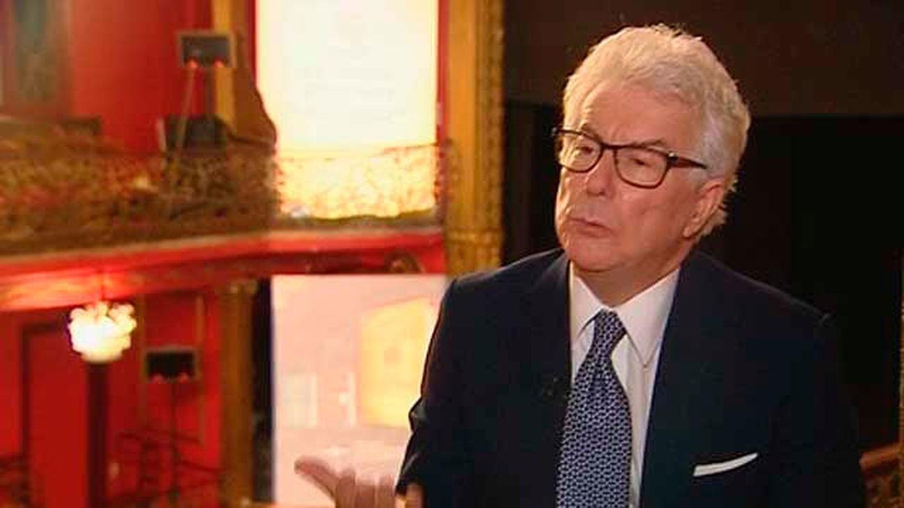 Ken Follett presenta en Madrid 'Una columna de fuego'