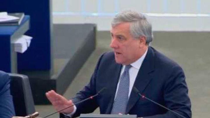 Tajani defiende la democracia en España tras las críticas de eurodiputados de ultraderecha