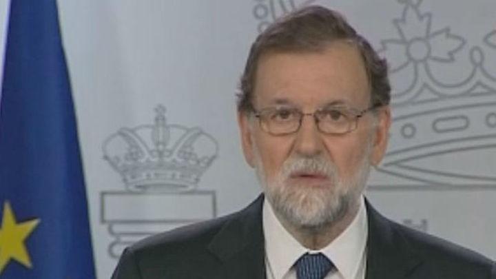 Rajoy se reunió este martes en Moncloa con los arzobispos de Barcelona y Madrid