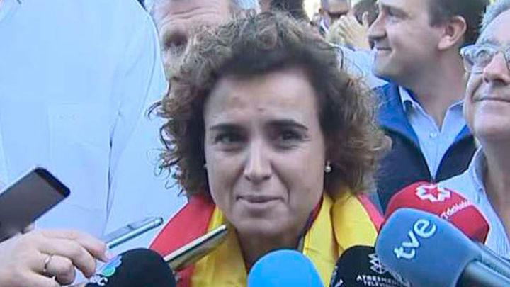 """Dolors Montserrat: """"El Gobierno no va a abandonar ni a dejar solo a ningún catalán"""""""