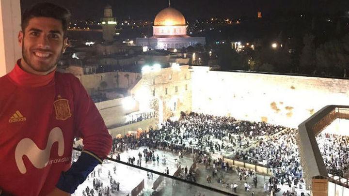 Asensio incendia las redes sociales desde Jerusalén con un tuit