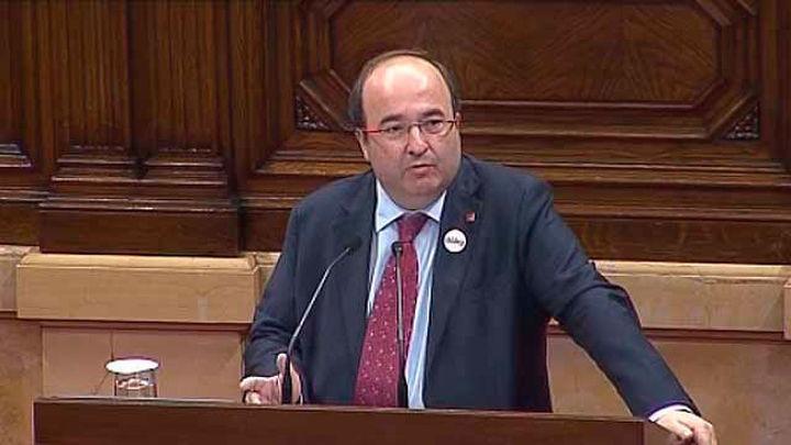 """Iceta: """"Apoyaré la aplicación del artículo 155 si Puigdemont contesta sí"""""""