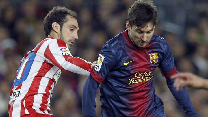 """Juanfran: """"El Barça no solo es Messi, hay que estar encima de todos"""""""