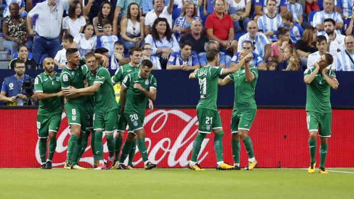 0-2. El Leganés hunde un poco más al Málaga