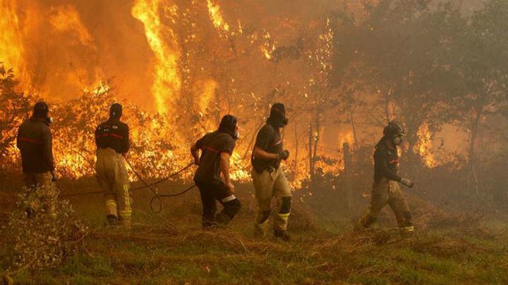 Cuatro víctimas mortales por los incendios que asolan Galicia