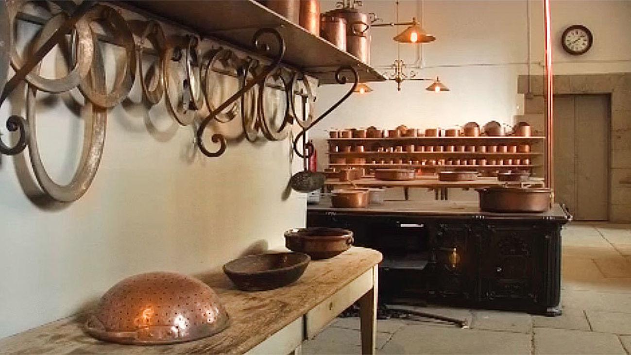 Abren al público las cocinas del Palacio Real