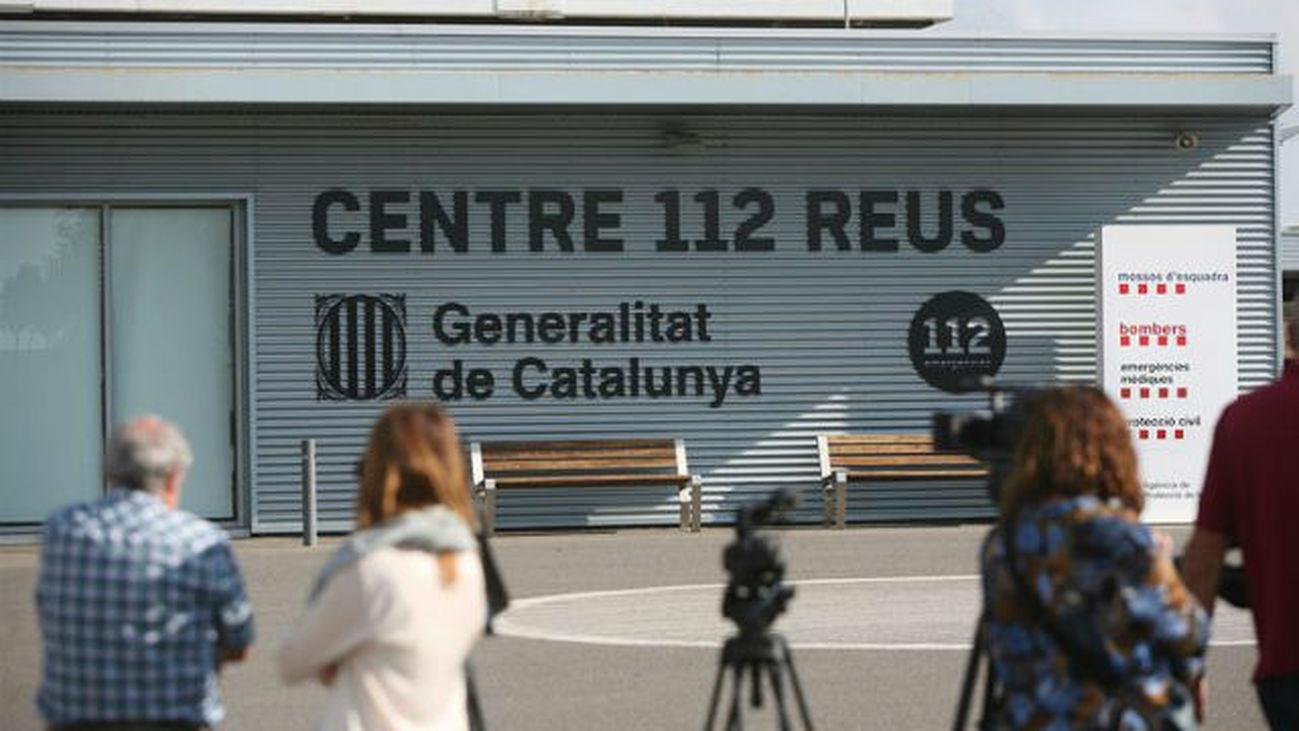 Vista de la sede central del servicio de emergencias 112 de la Generalitat, en Reus (Tarragona)