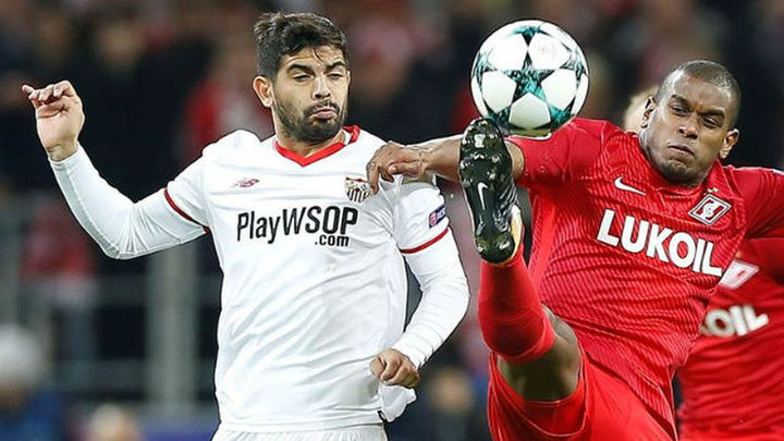'Manita' del Spartak al Sevilla y el Liverpool hace un siete al Maribor (0-7)
