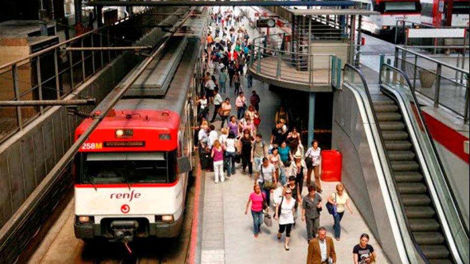 Adif continúa las obras de mejora de las vías de Atocha a San Fernando y Aranjuez