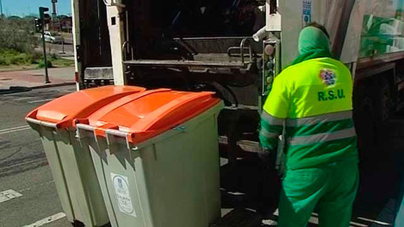 Servivicios de recogida de basuras