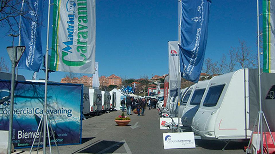 Feria de caravanas en Madrid Xanadú con más de 300 vehículos