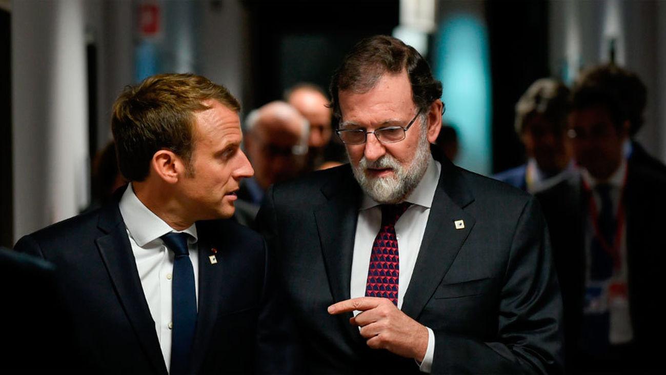 Rajoy recibe el apoyo de la UE a su defensa de la Constitución en Cataluña