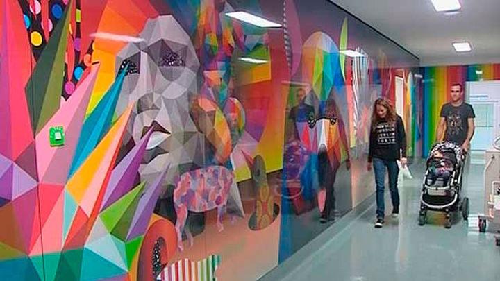 La UCI Pediátrica del hospital Clínico se llena de color
