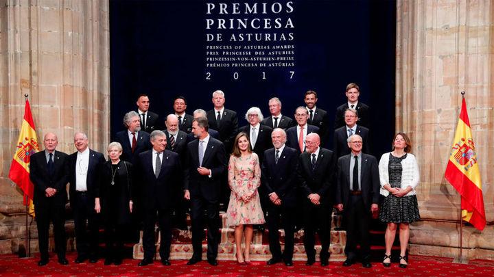 Todo preparado en Oviedo para la entrega de los premios Princesa de Asturias