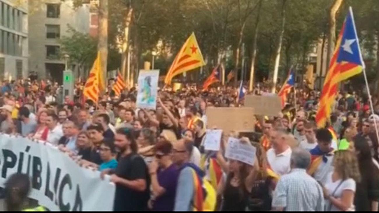 Los empleados públicos catalanes deberán recuperar las horas del 'paro de país'
