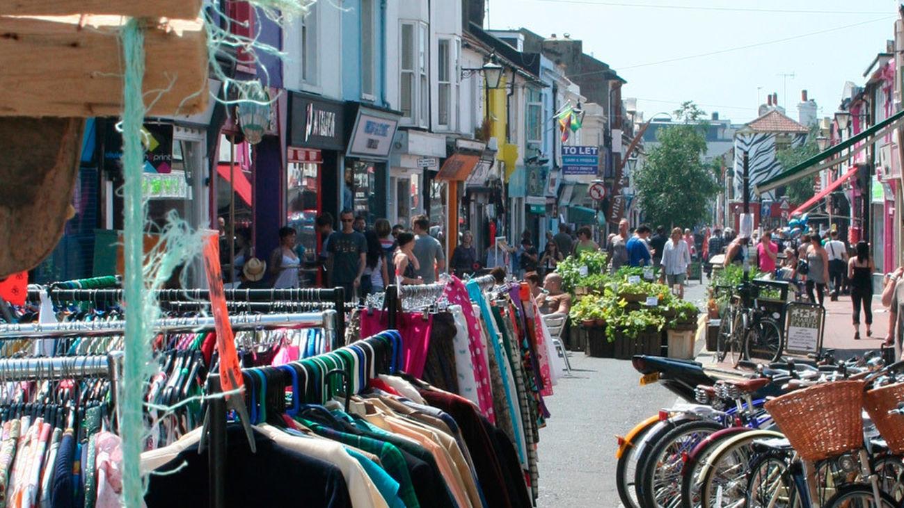North Laine, el barrio alternativo de Brighton