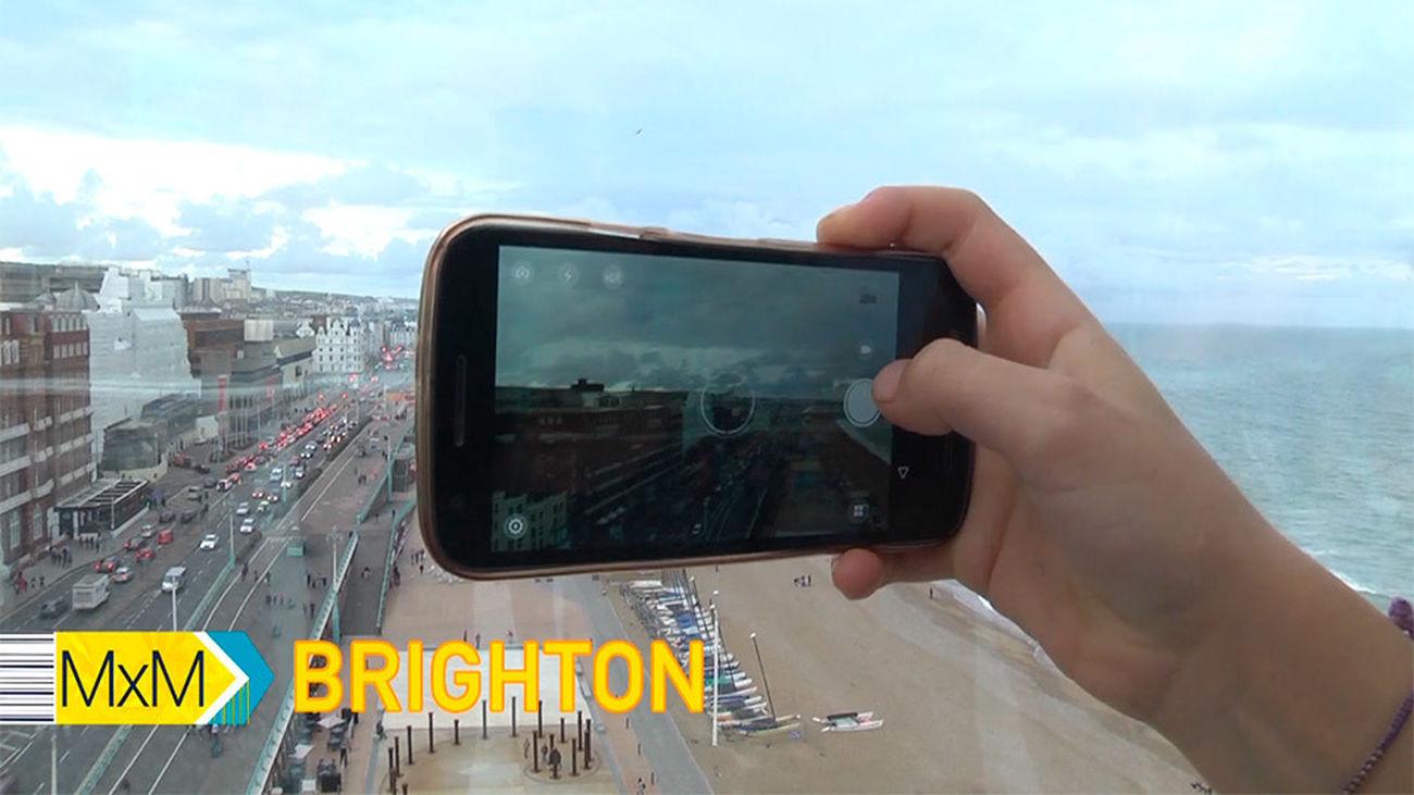 Una visión de Brighton en 360 grados