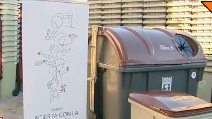 Los distritos de Salamanca, Chamartín y Barajas estrenan el contenedor para residuos orgánicos