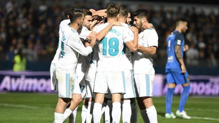 0-2. Dos penaltis dan el triunfo al Real Madrid ante el Fuenlabrada
