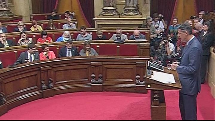 El Parlamento catalán decide sobre la independencia en respuesta al 155