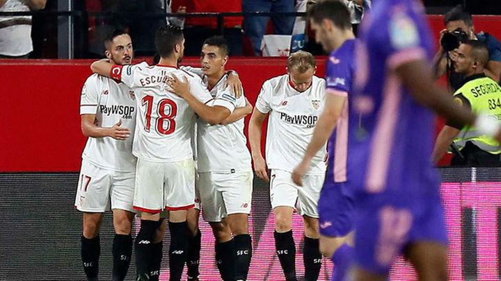 2-1. El Sevilla vuelve a ganar y rompe la racha del Leganés