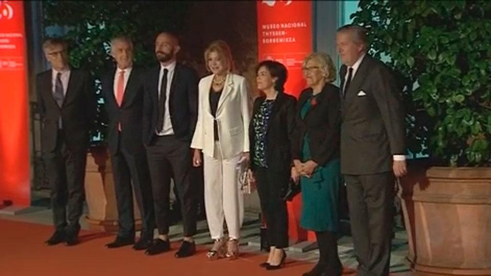 Resultado de imagen de Museo Thyssen reúne al mundo de la política y la cultura en su 25 aniversario