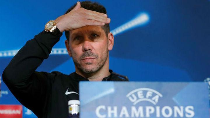 """Simeone: """"Tenemos un partido muy importante para todos"""""""