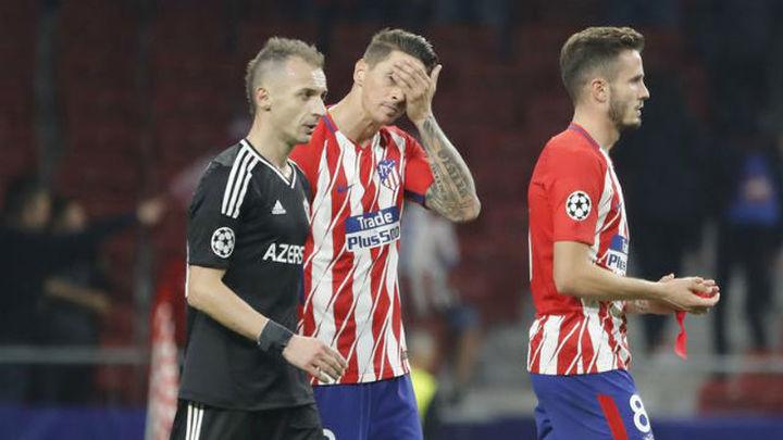 1-1. El Atlético se asoma al precipicio