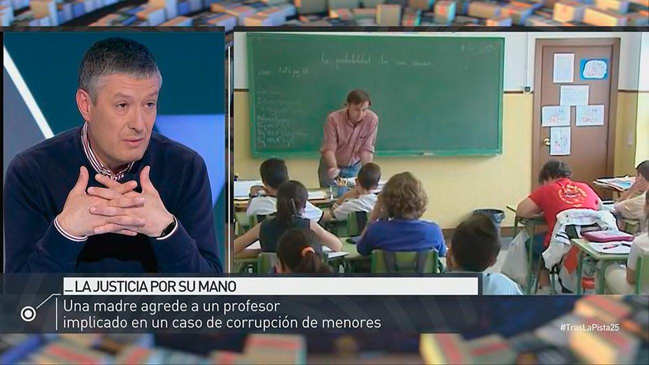 Una madre agrede en Valencia a un profesor acusado de corrupción de menores