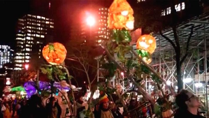 Estados Unidos celebra Halloween contra el terror tras el atentado en Nueva York