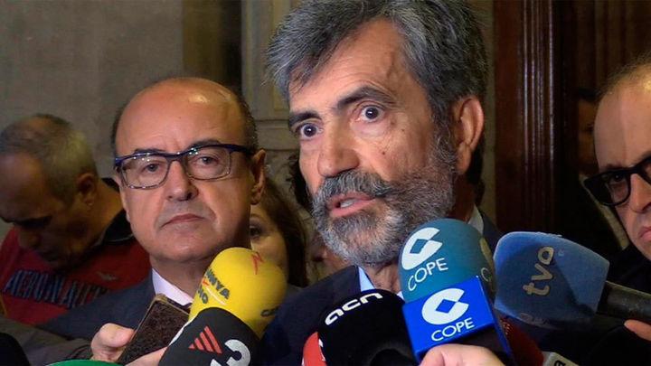 """Lesmes recuerda a Puigdemont que """"su deber es comparecer"""" ante el juez"""