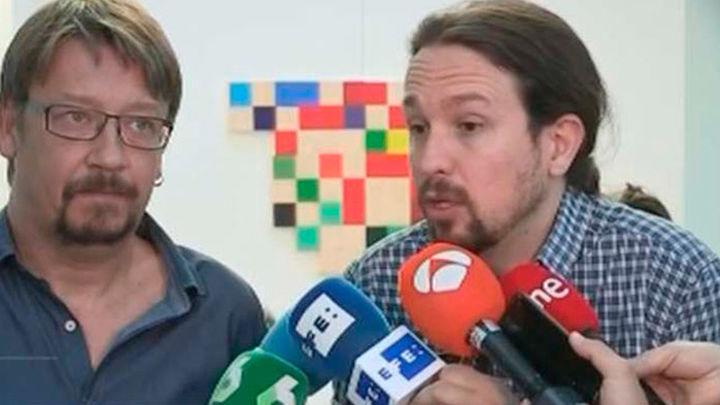 """Pablo Iglesias """"avergonzado"""", pide libertad para los """"presos políticos"""""""