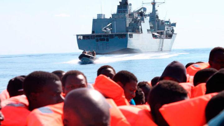 El barco español Cantabria recupera 23 cadáveres en el Mediterráneo