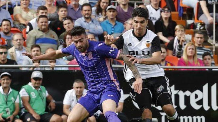 3-0. El Leganés da un paso tras ante un Valencia que mantiene su fortaleza