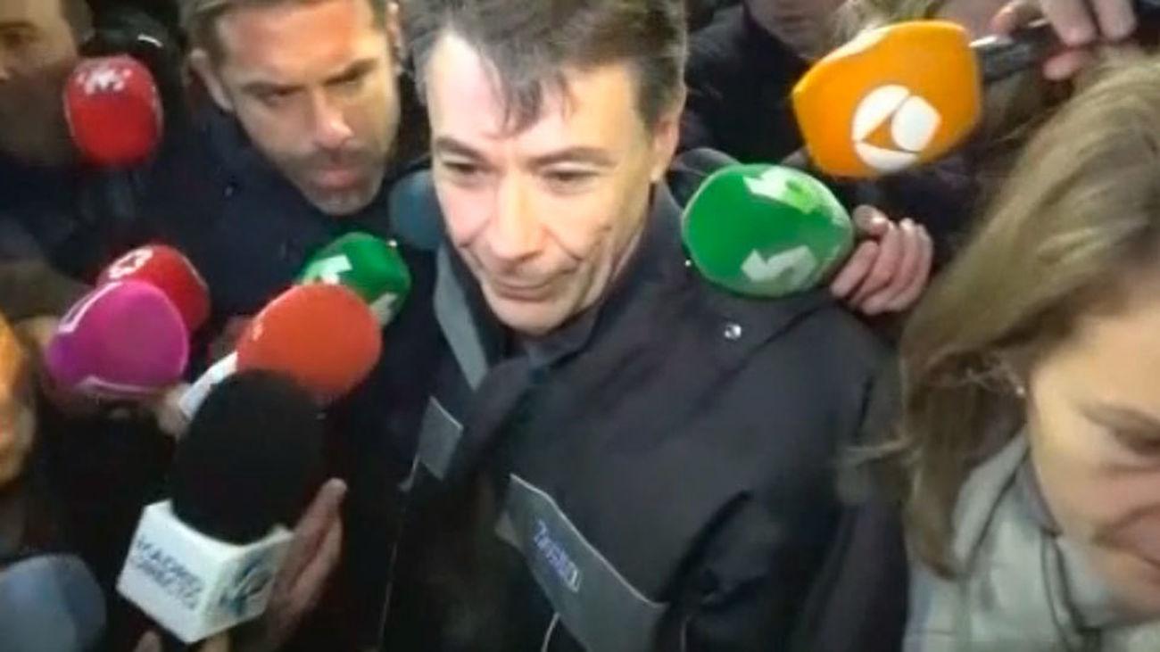 Ignacio González deja la prisión de Soto del Real tras pagar 400.000 euros de fianza