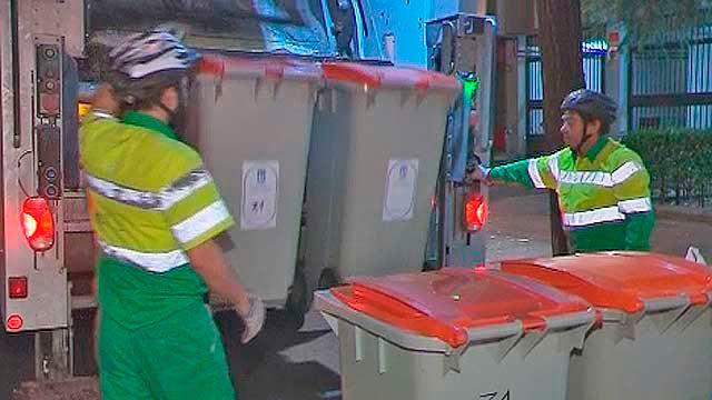 Serviciso de recogida de basuras en Madrid