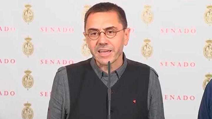 """Monedero acusa a Ayuso de querer romper Madrid:  """"Quiere hacer un 'apartheid'"""""""